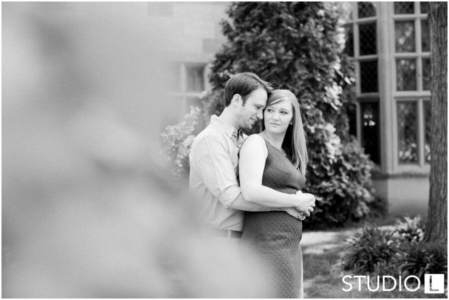 Paine Art Center Engagement, Studio L Photography