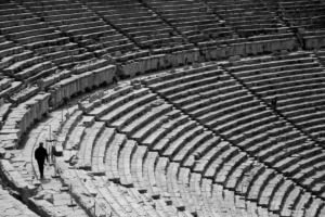 Ancient Theatre Epidaurus Greece