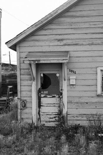Abandoned Leadville Colorado House