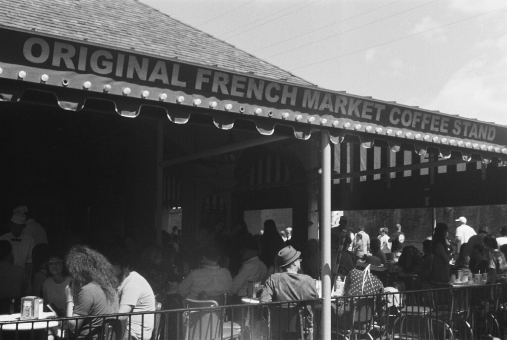 Cafe Du Monde French Market Coffee Stand New Orleans Louisiana