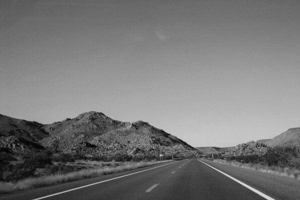 Deserted Route 66 Arizona