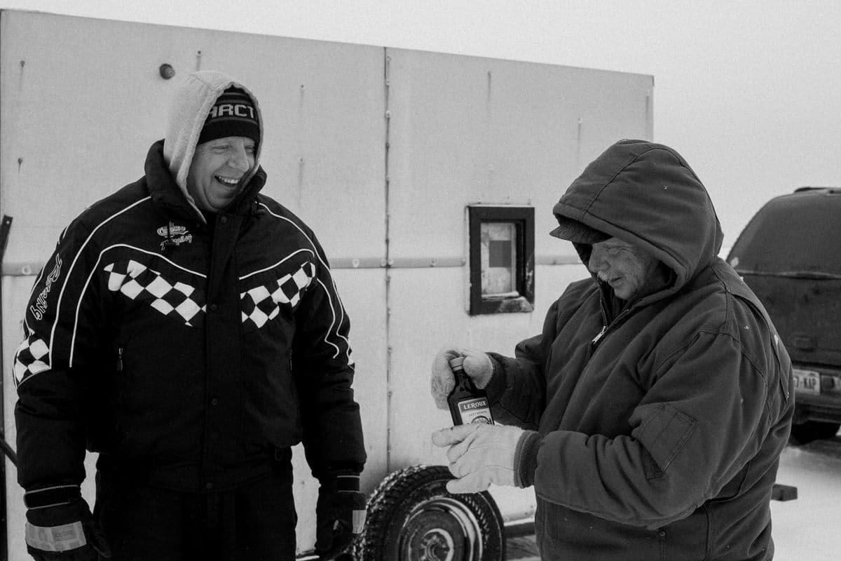 Lake-Winnebago-sturgeon-spearing-Fond-du-Lac-Wisconsin-black-and-white-fine-art-photography-by-Studio-L-photographer-Laura-Schneider-_0047