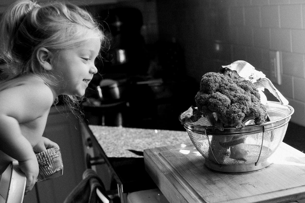 Organic-broccoli-from-Park-Ridge-Organics-Fond-du-Lac-Wisconsin-black-and-white-fine-art-photography-by-Studio-L-photographer-Laura-Schneider-_12078