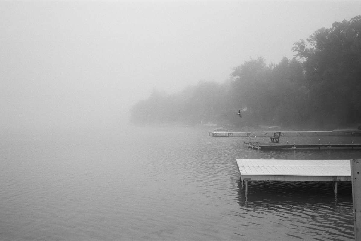 Black-and-white-film-photography-of-Elkhart-Lake-Wisconsin-by-Studio-L-artist-photographer-Laura-Schneider-_007